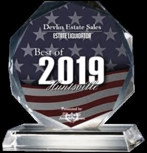 2019 Best of Huntsville Award Estate Sale Company