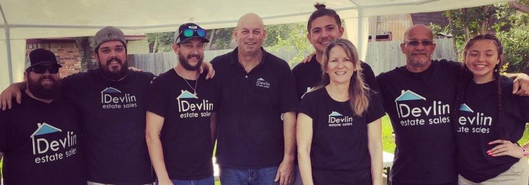 Devlin Estate Sales Team Photo